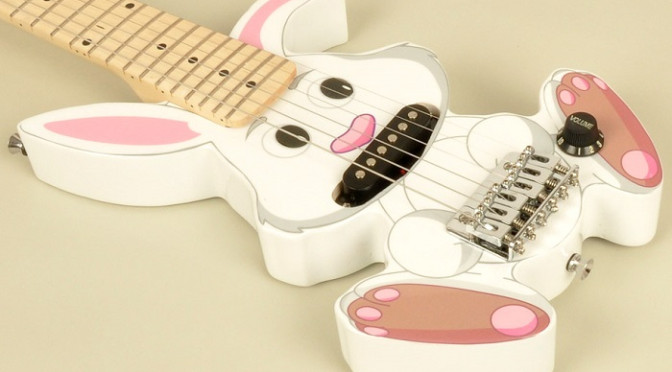 Rabbit guitar