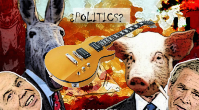 11-05-2015 – Guitar Madness 2 With Added Politics