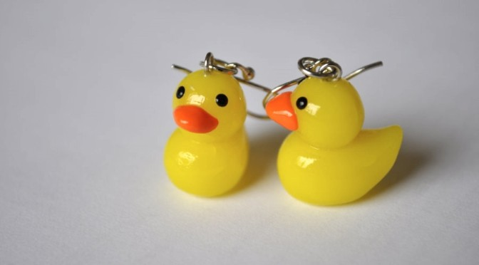 Duck Earings