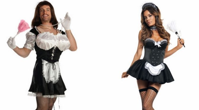 31-10-2016 – Of Halloween And French Maids