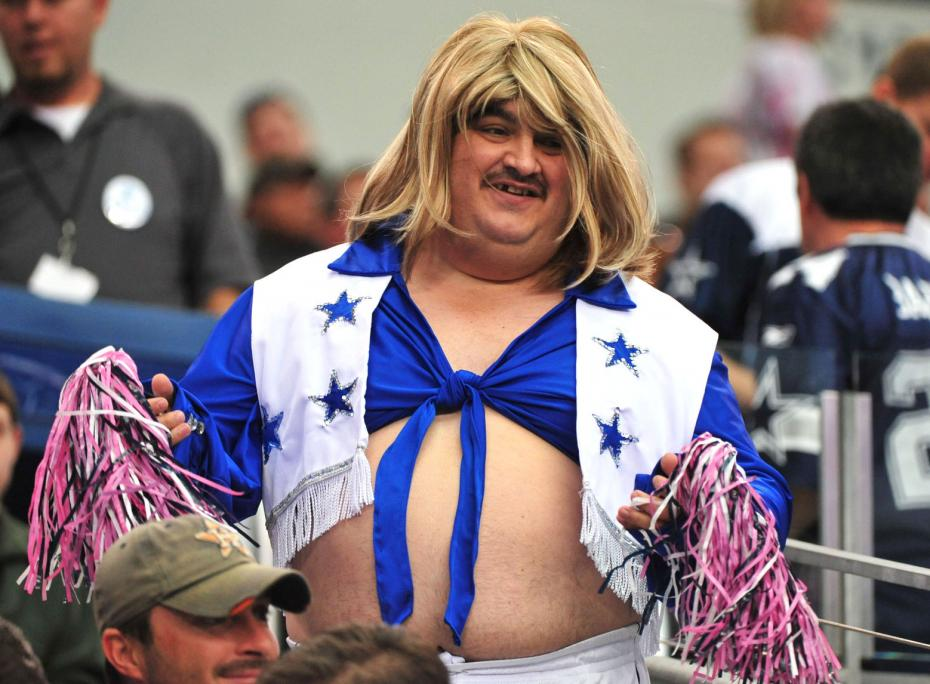 Cheerleader guy
