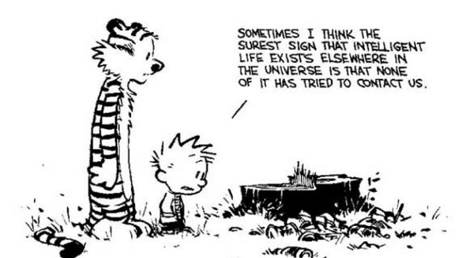 Calvin on intelligent life