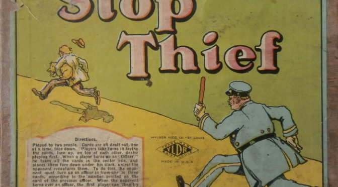 30-09-2019 – Stop, Thief